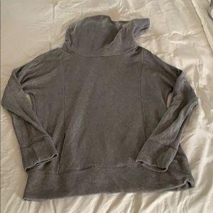 Grey cowl neck Sparkle sweater/sweatshirt